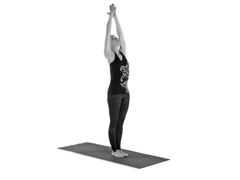 Upward-Facing Hands Pose (Urdhva Hastasana)