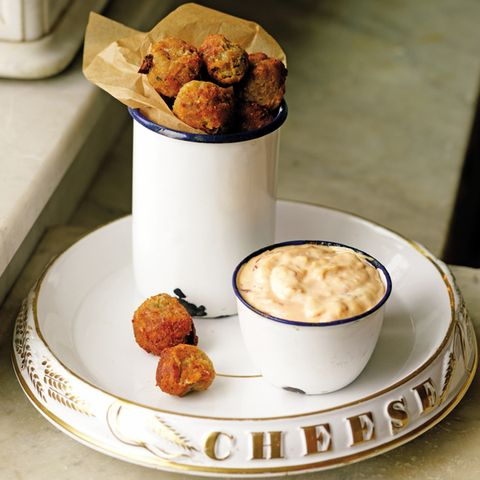 Helen's Fried Cheese Balls with Chili Mayonnaise (1900)