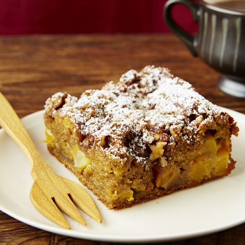Butternut Squash-Apple Coffee Cake