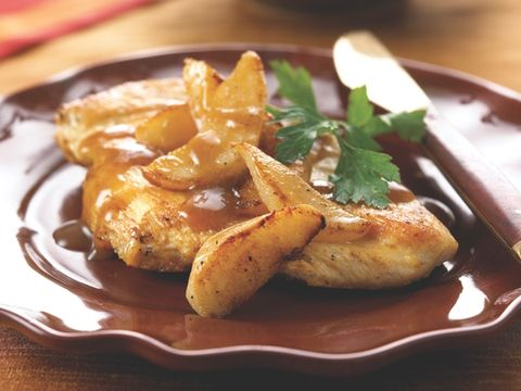 Chicken Balsamico with Pears