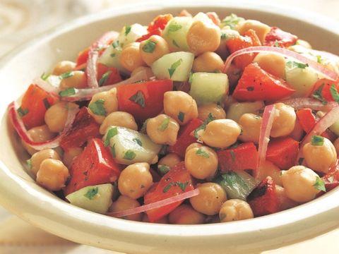 Summer Mediterranean Chickpea Salad