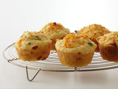 Cheddar Cornbread Muffins