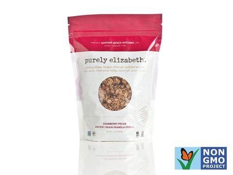Purely Elizabeth cranberry pecan granola cereal