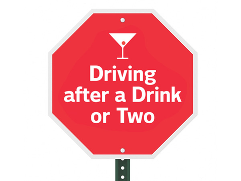 road risk: driving after a couple of drinks