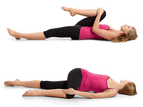 2. Easy Spinal Twist