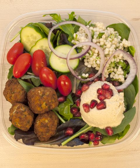 SALAD SUPERSTAR #1: Falafel Mezze Salad