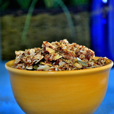 Protein-Packed Nutty Granola