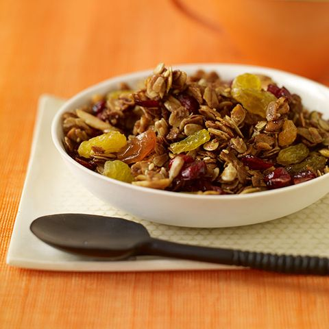 Honey granola with fruits, seeds & nuts