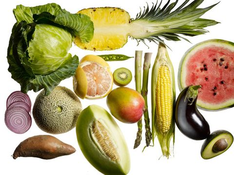 Produce, Natural foods, Food, Vegan nutrition, Citrullus, Ingredient, Fruit, Whole food, Leaf vegetable, Food group,