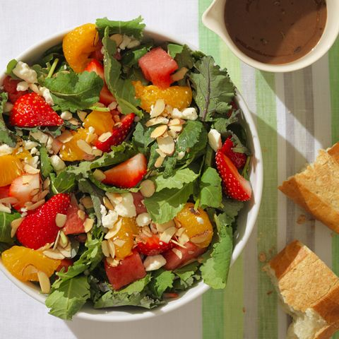 SALAD SUPERSTAR #2: Fresh Fruit & Baby Kale Salad