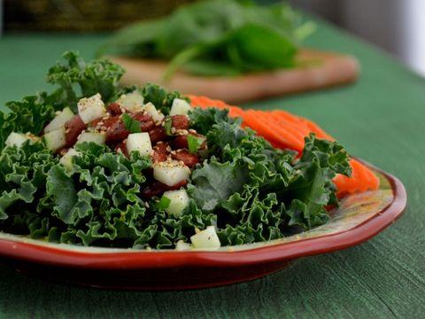 Kidney Bean Kale & Sesame Seed Wraps