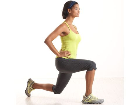 how to do a lunge correctly