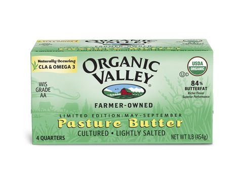 Butter: Organic Valley pasture butter