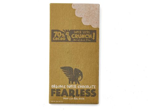 Fearless Chocolate Organic Super Seeds Crunch