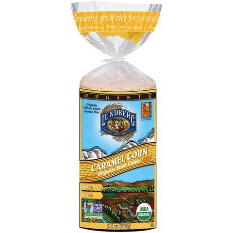 1. Lundberg Organic Caramel Corn Rice Cake