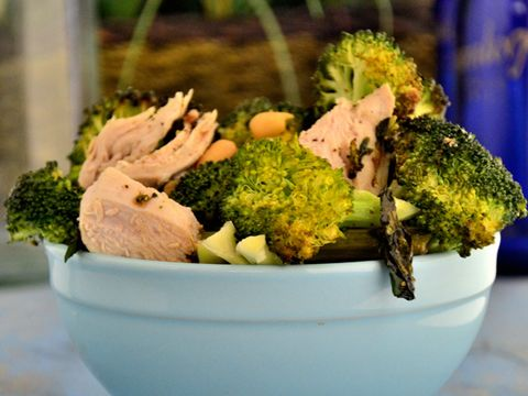 Roasted Rosemary Chicken with Broccoli