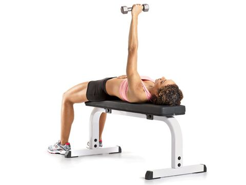 Single-Arm Dumbbell Bench Press