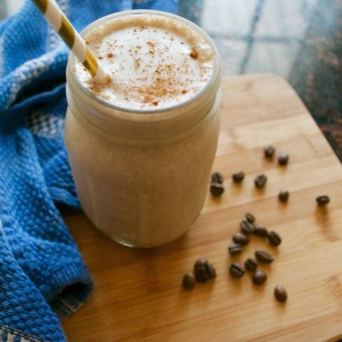 PB & Banana Coffee Frappe