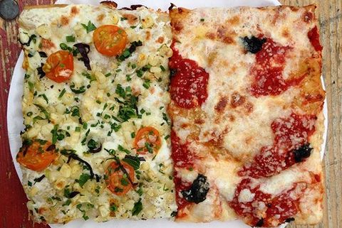 Dish, Food, Cuisine, Pizza, Pizza cheese, Flatbread, Ingredient, Junk food, California-style pizza, Comfort food,