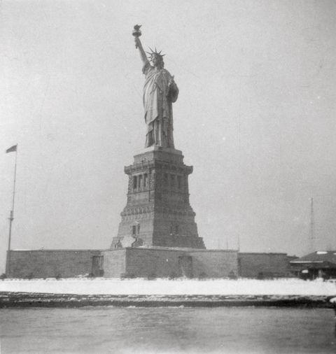 Statue of Liberty, New York City, USA, 20th century. Artist: J Dearden Holmes