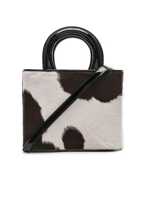 Staud cow print bag