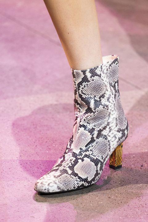 Footwear, Pink, Fashion, Shoe, Human leg, Ankle, Leg, Joint, Boot, High heels,