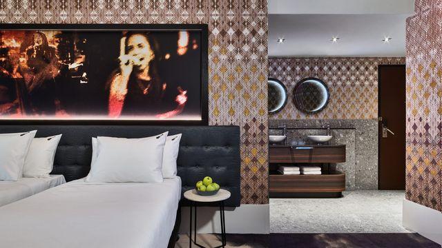 kamer tijdens staycation taste beats in het hard rock hotel met diner van wils en slagerij de beurs