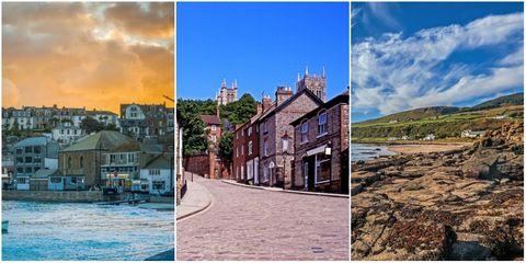 Photograph, Town, Sky, Property, Natural landscape, Home, Tourism, House, Real estate, Building,