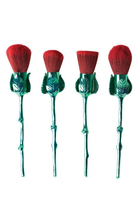 Storybook Cosmetics What's In A Name Rose Brush Set