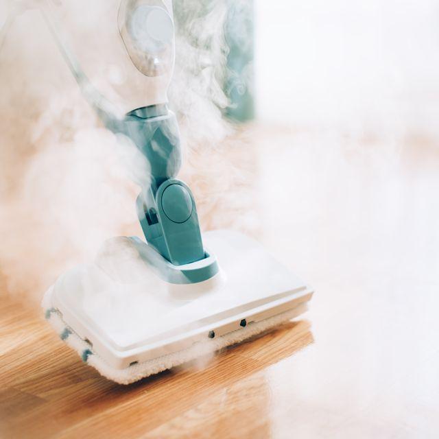 steam cleaner mop cleaning floor