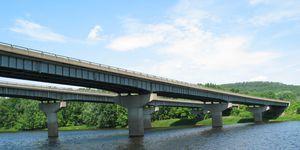 steel girder bridge