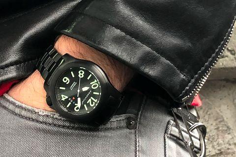 momentum steelix black ion watch lead