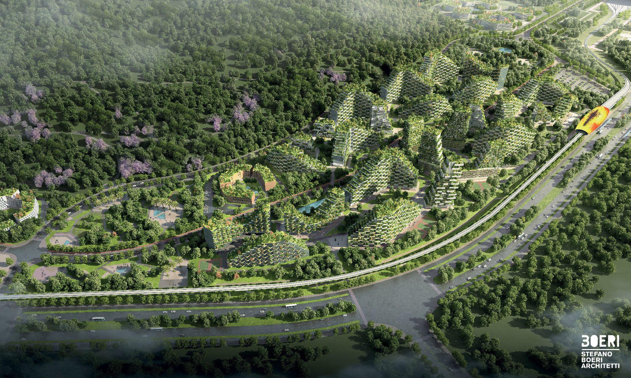 Forest City: il Bosco Verticale formato città
