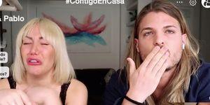 Steisy y su novio, Pablo, protagonizan una pelea en su canal de MTMad durante la cuarentena por el coronavirus