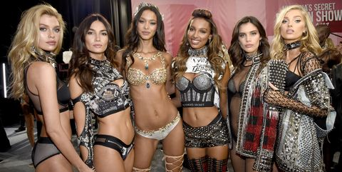 2d035ad5ed All the Victoria s Secret Angels and Runway Models at the 2018 ...