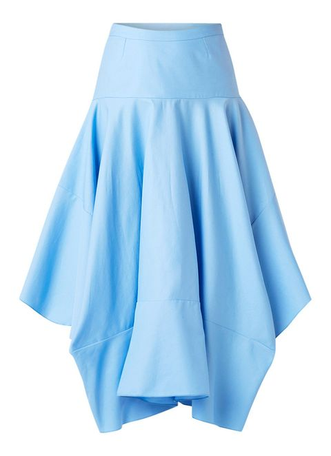 Blue, Clothing, Aqua, Turquoise, Fashion, A-line, Electric blue, Tennis skirt, Textile, Turquoise,