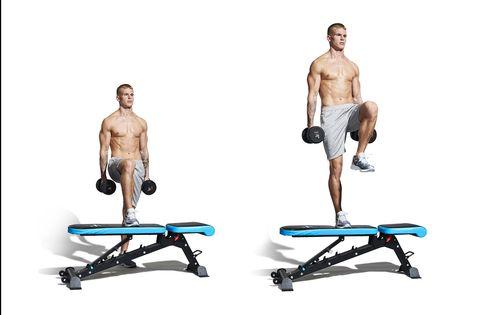 shoulder, weights, arm, exercise equipment, standing, leg, joint, bench, chest, abdomen,