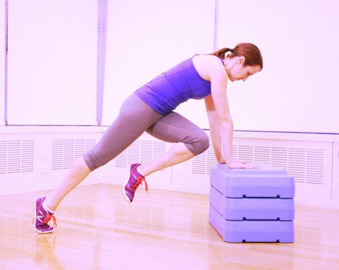 Lower Body Step Workout