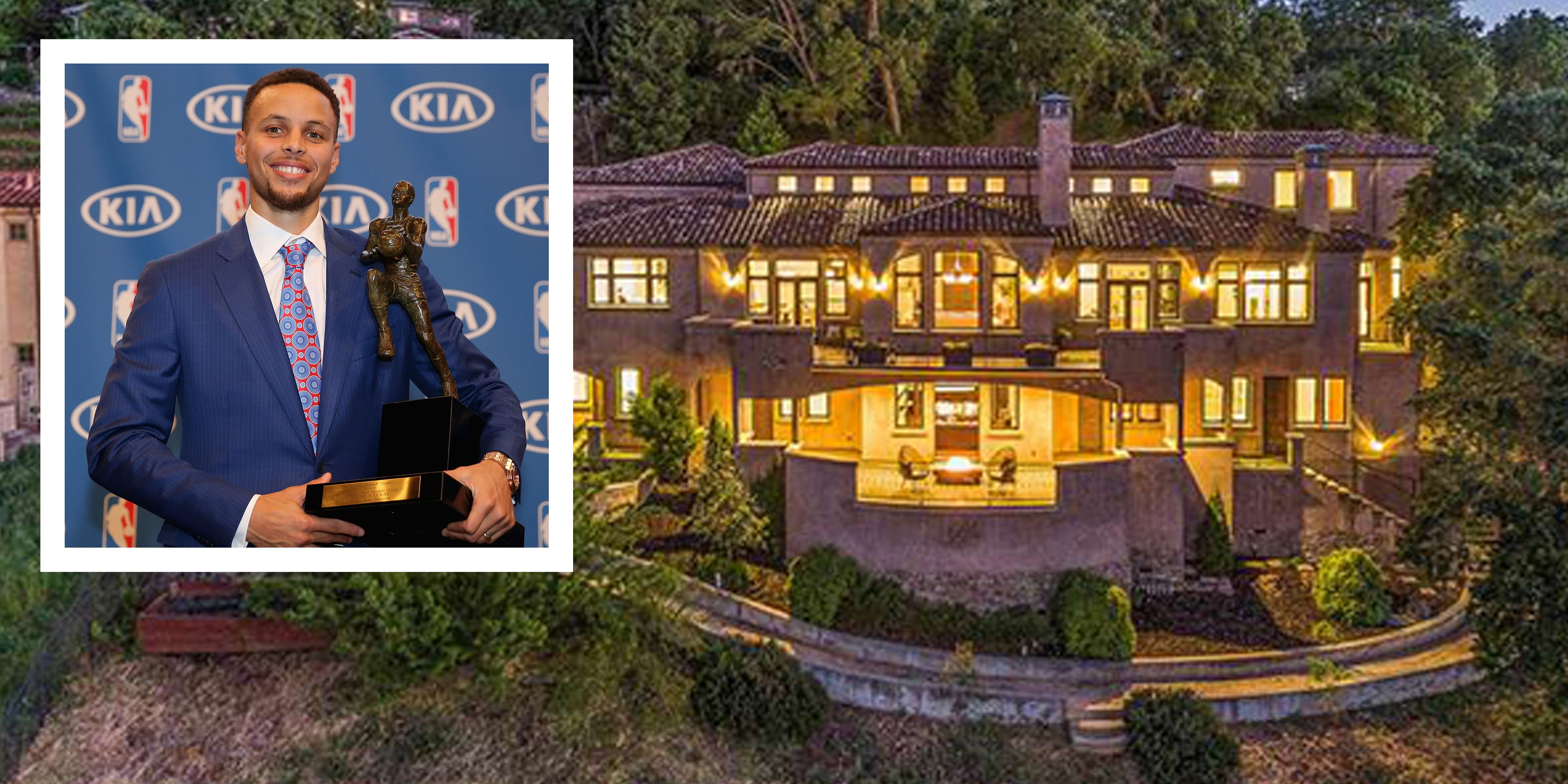 8743a22b32da Stephen Curry s House - Golden State Warriors NBA MVP Sells Walnut Creek  Home