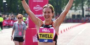 steph twell breaks scottish marathon record