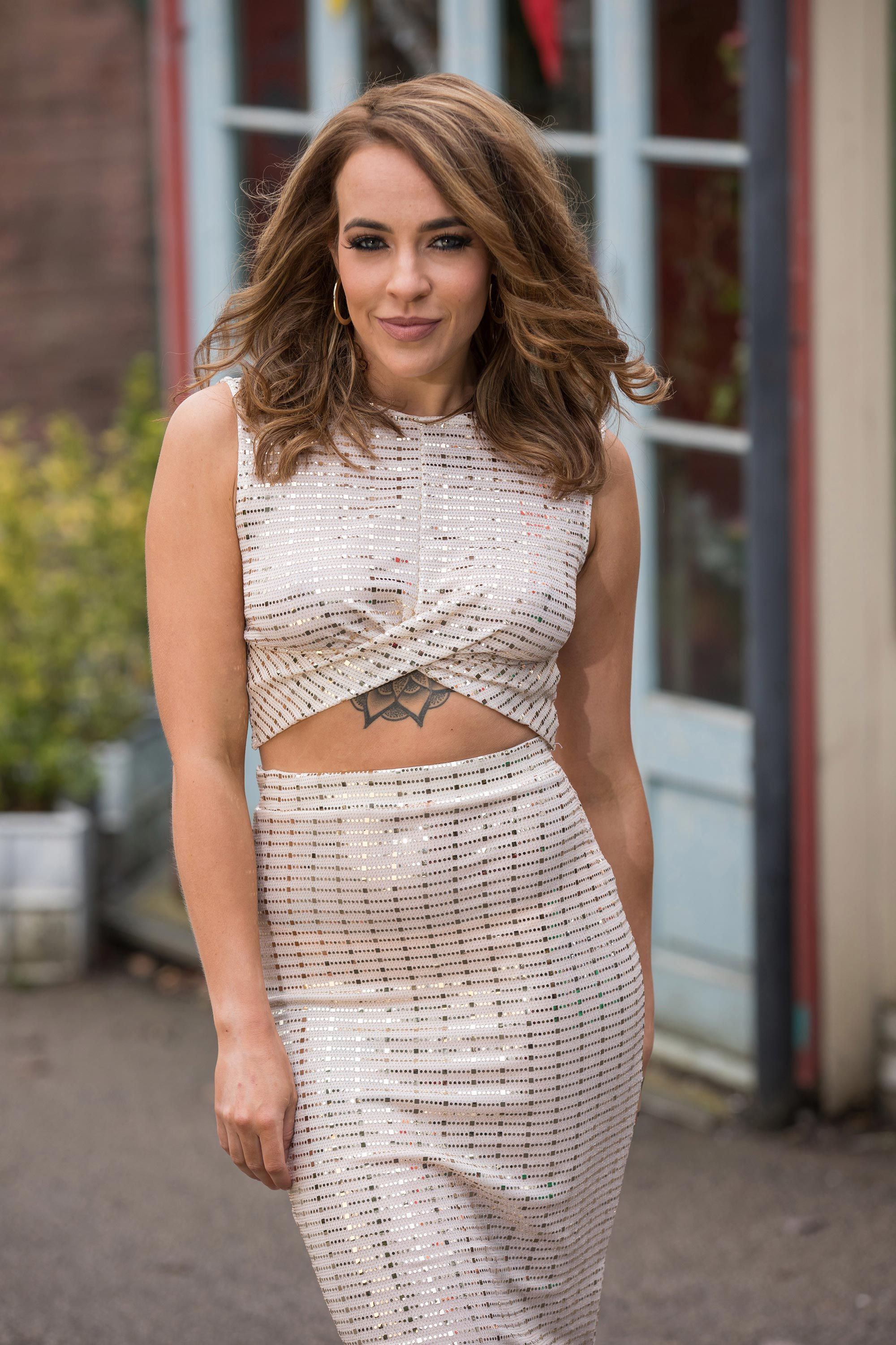 "Hollyoaks' Stephanie Davis reveals new ""meaningful"" tattoo cover-up"