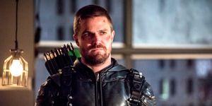 Stephen Amell as Arrow, Arrow season 7 finale