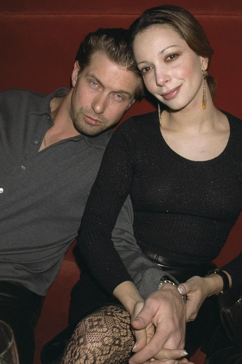 Stephen Baldwin and wife Kennya Deodato attend the Abercromb