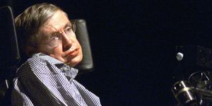 Stephen Hawking, the world-renowned physicist, del