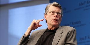 """Stephen King Reads From His New Fiction Book """"11/22/63: A Novel"""" During The """"Kennedy Library Forum Series"""""""