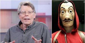 Stephen King le pide a Netflix que estrena 'La casa de papel'