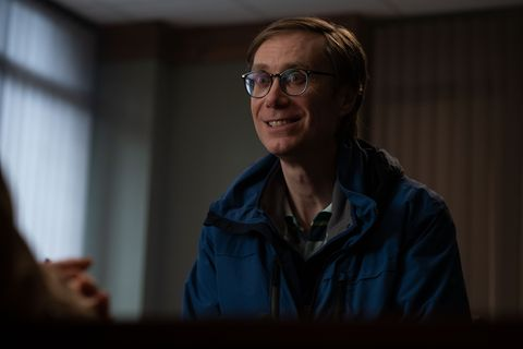 stephen merchant as greg in bbc's the outlaws