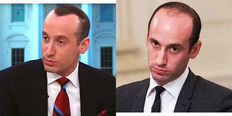 An Expert Explains What the Hell Is Happening With Stephen Miller's 'Hair'