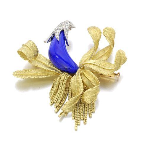 ピエール・ステルレ 鳥のモチーフを得意としたステルレのブローチ