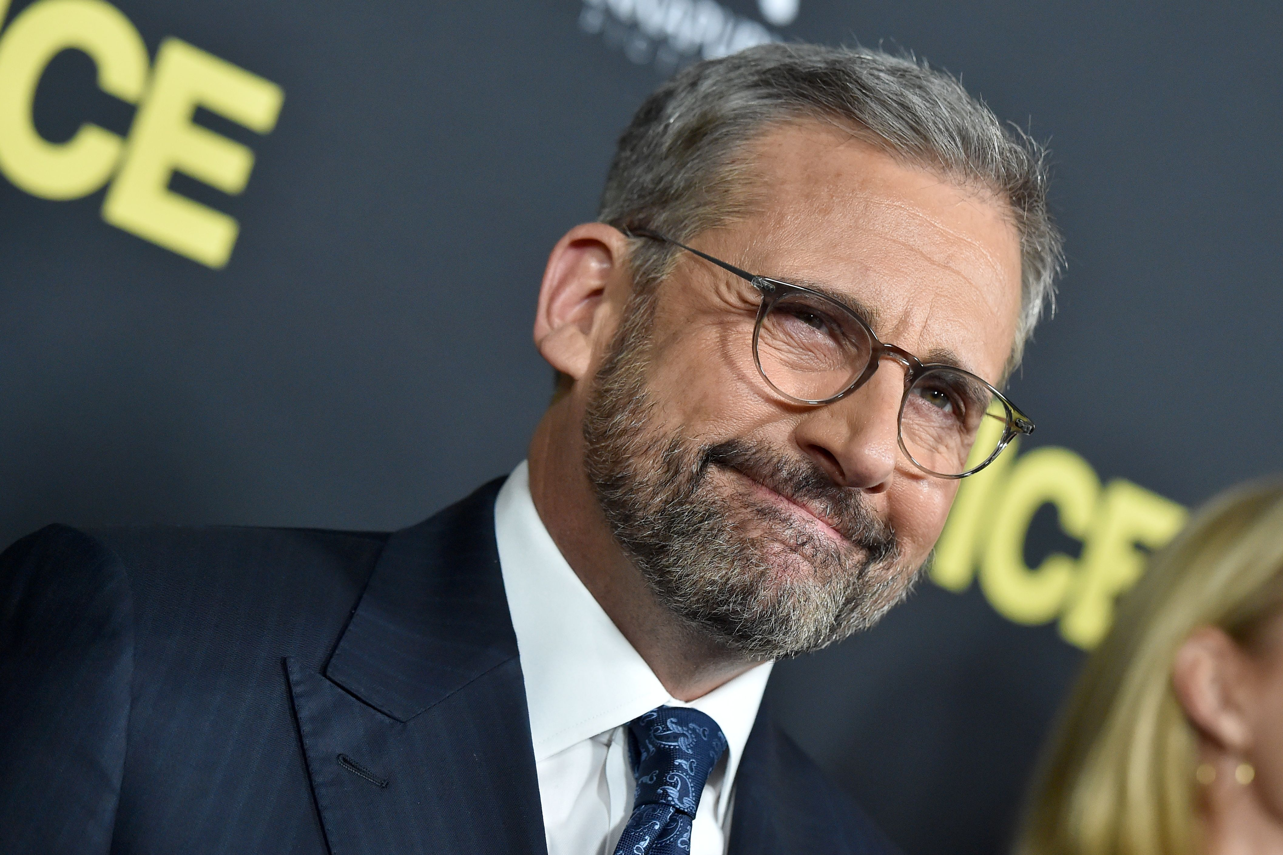 """Steve Carell Describes the """"Fun Fan Encounter"""" That Knocked Him off His Bike"""